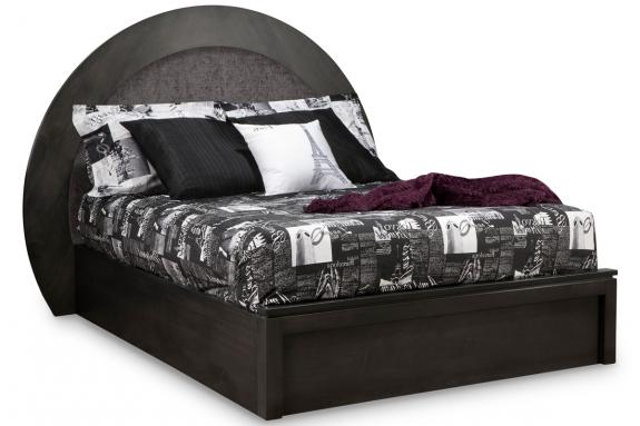Orlando Moon Platform Bed (Queen)