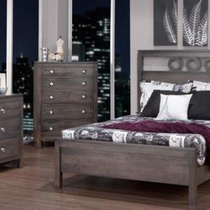 Orlando Panel Bedroom Set (Queen)