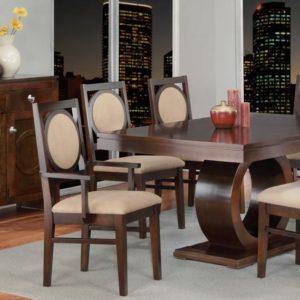 Orlando Pedestal Table Dining Set