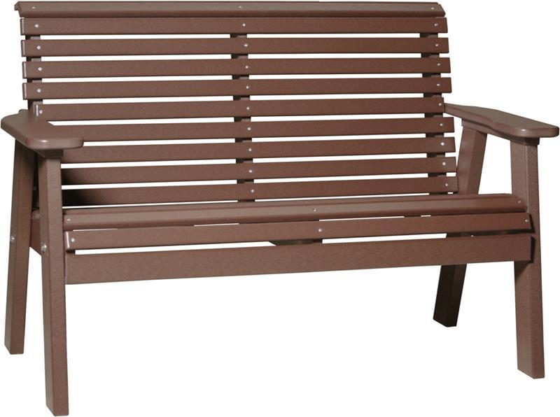 Plain Bench Loveseat Fine Oak Things