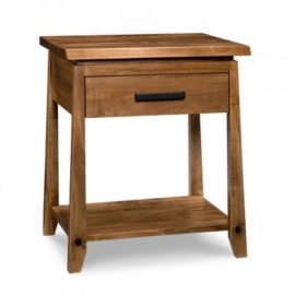 Pemberton 1-Drawer Open Nightstand