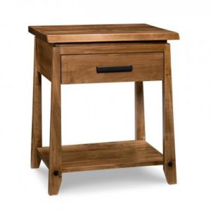 Pemberton 1-Drawer Open Nightstand