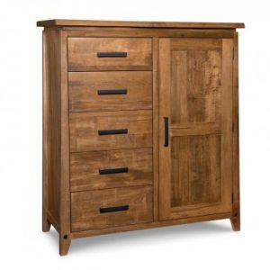 Pemberton 5-Drawer 1-Door Gentleman's Chest