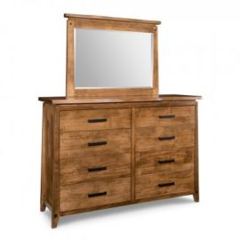 Pemberton 8-Drawer High Dresser & Mirror