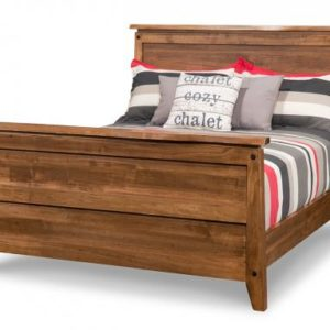 Pemberton Bed with High Footboard (Queen)