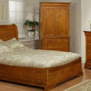 Phillipe Sleigh Bedroom Set (Queen)