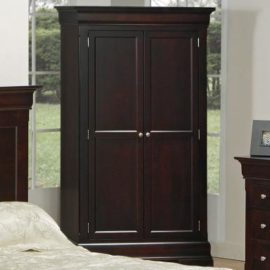 Phillipe Wardrobe with 4-Drawers & 2 Shelves