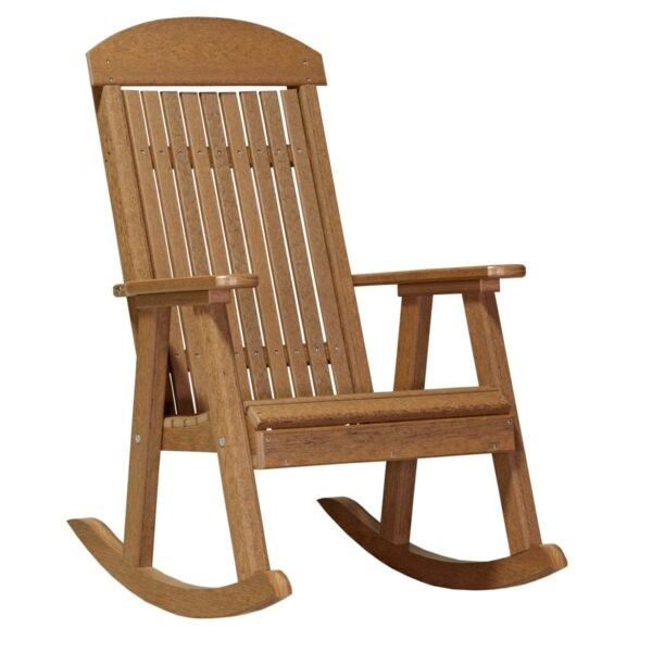 Porch Rocker - Antique Mahogany