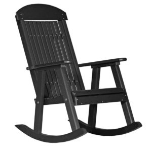 Porch Rocker - Black