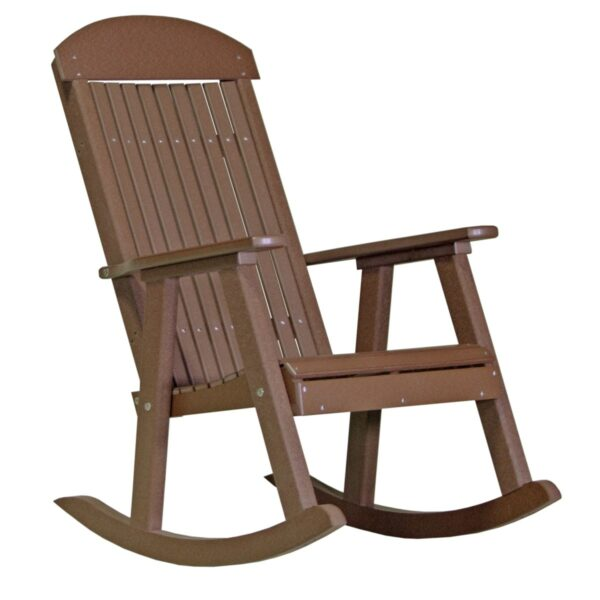 Porch Rocker - Chestnut Brown