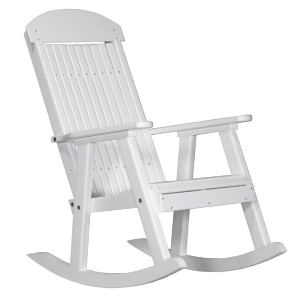 Porch Rocker - White