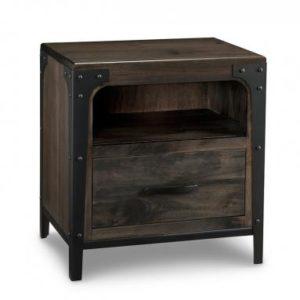 Portland 1-Drawer Nightstand