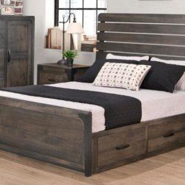 Portland Storage Platform Bed (Queen)