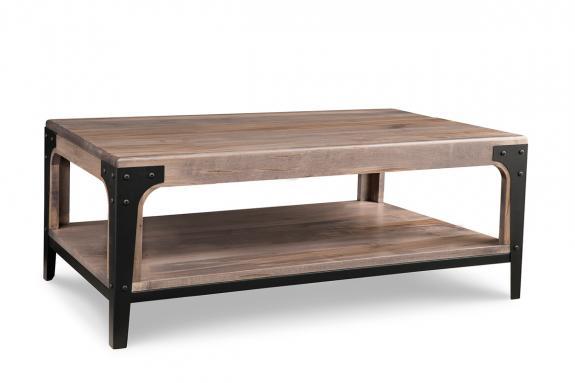 Portland 46 W Coffee Table Solid Wood Coffee Tables