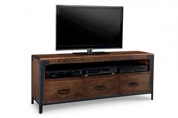 Portland 71 Quot Tv Stand Mennonite Wood Furniture