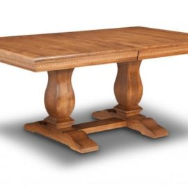 Provence Dining Table (Pedestal)