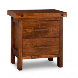 Rafters 2-Drawer Nightstand