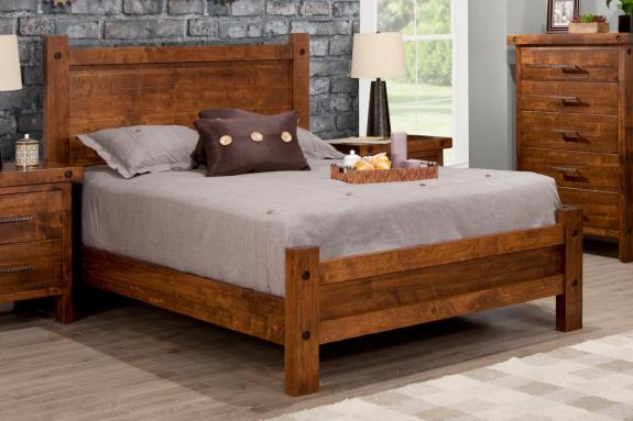 Rafters Bed with Low Footboard (Queen)