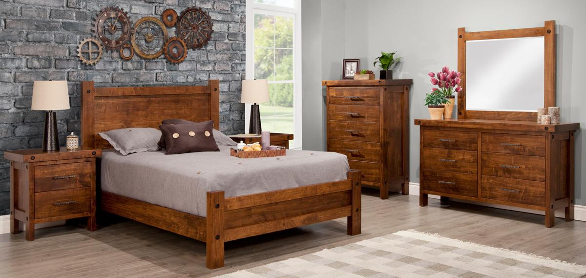 Rafters Bedroom Set (Queen)