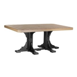 Rectangular Table - Cedar & Black