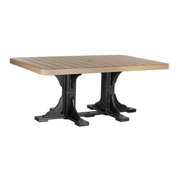 Rectangular Table - Cedar & Black