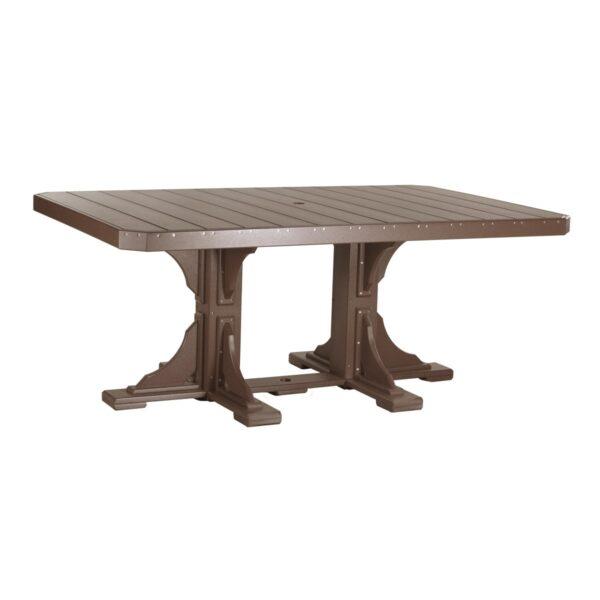 Rectangular Table - Chestnut Brown