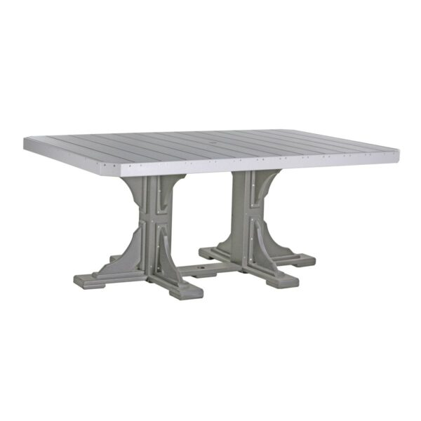 Rectangular Table - Dove Gray & Slate
