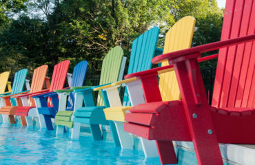 Recycled Patio Deluxe Adirondack Chairs