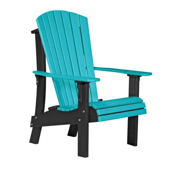 Royal Adirondack Chair - Aruba Blue & Black