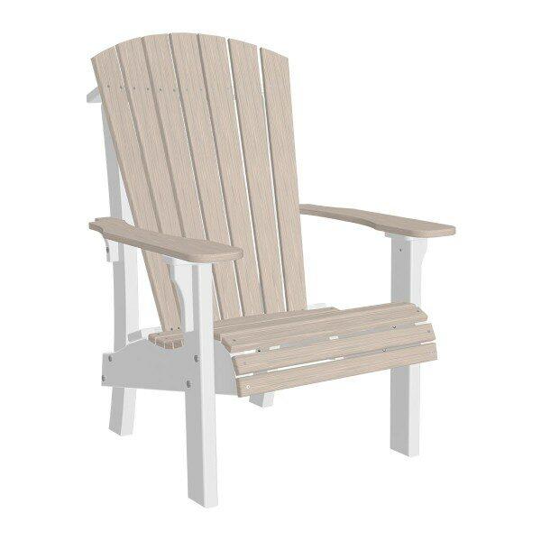 Royal Adirondack Chair - Birch & White