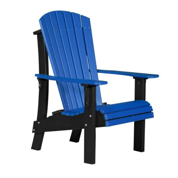 Royal Adirondack Chair - Blue & Black