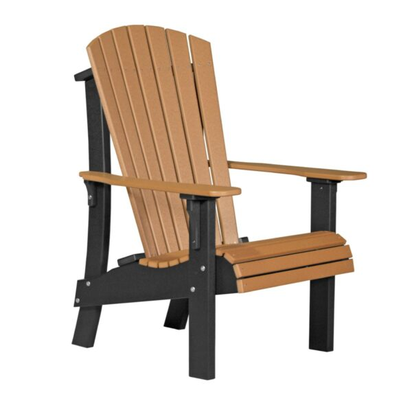 Royal Adirondack Chair - Cedar & Black