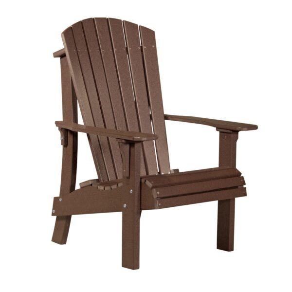 Royal Adirondack Chair - Chestnut Brown