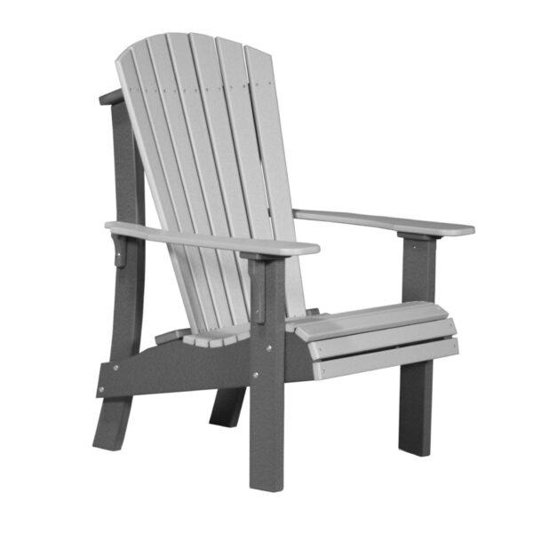 Royal Adirondack Chair - Dove Gray & Slate