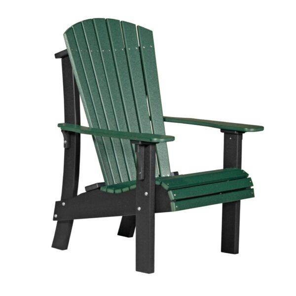 Royal Adirondack Chair - Green & Black