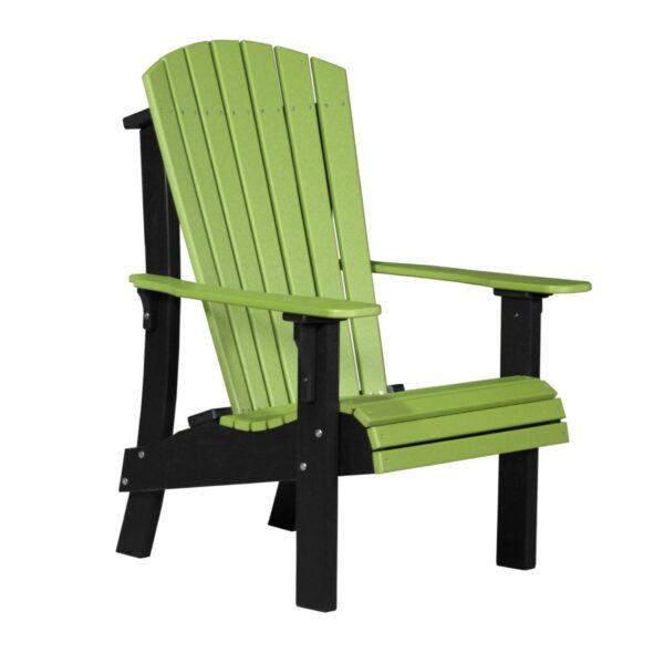Royal Adirondack Chair - Lime Green & Black