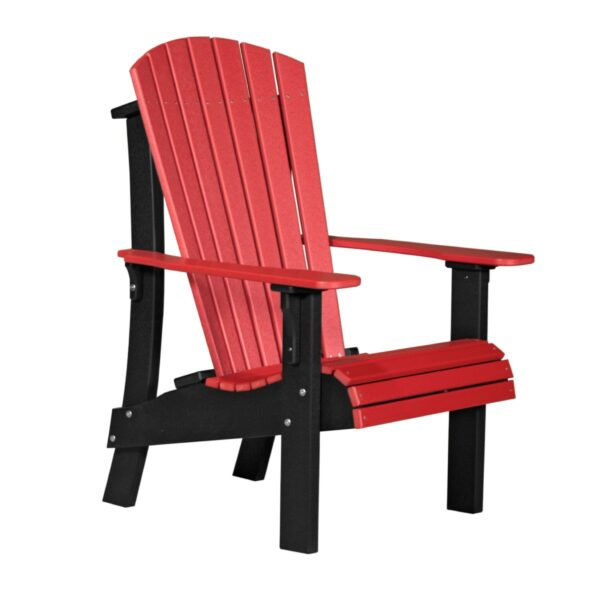 Royal Adirondack Chair - Red & Black