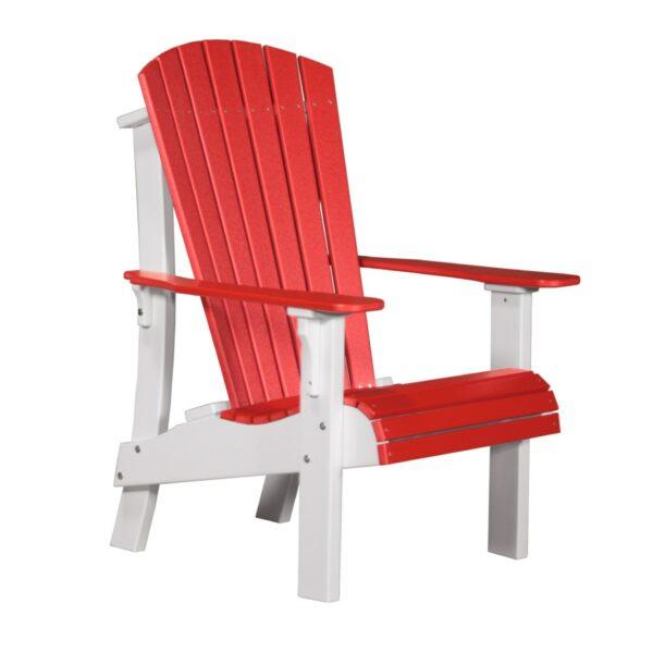 Royal Adirondack Chair - Red & White