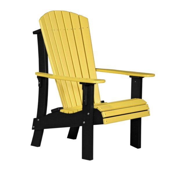 Royal Adirondack Chair - Yellow & Black