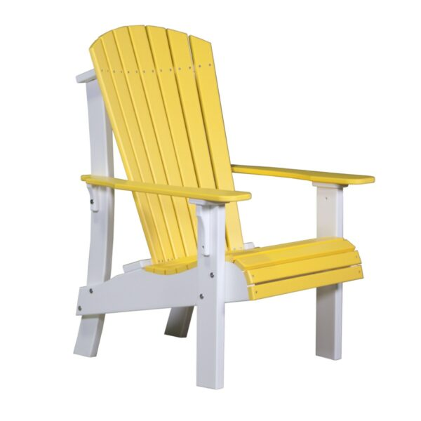 Royal Adirondack Chair - Yellow & White