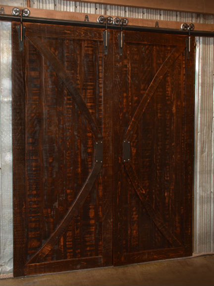 Rustic Carlisle Double Barn Door
