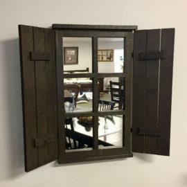 Reclaimed Shutter Mirror