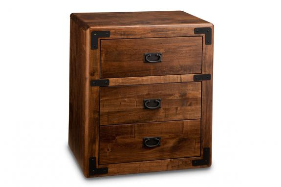 Saratoga 3-Drawer Nightstand
