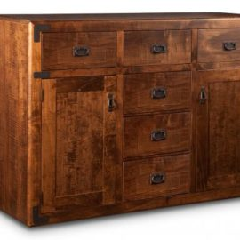 Saratoga 6-Drawer 2-Door Sideboard