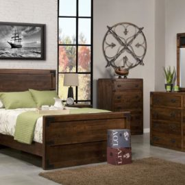 Saratoga Bedroom Set (Queen)
