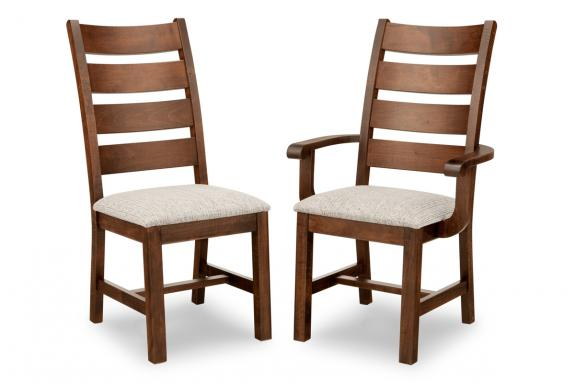 Saratoga Dining Chair (Side & Arm)