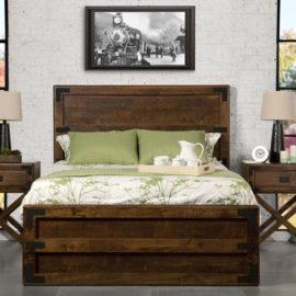 Saratoga X-Base Bedroom Set (Queen)