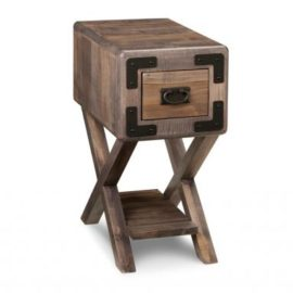 Saratoga X-Base Chair Side Table