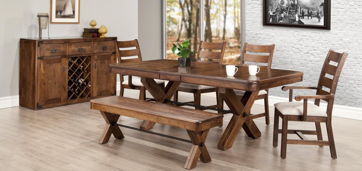 Saratoga X Base Dining Set Dining Room Furniture Fine