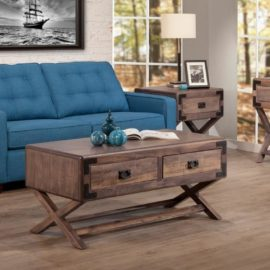 Saratoga X-Base Living Room Set